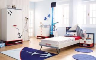 Детские кровати, оформленные в морском стиле, особенности декора