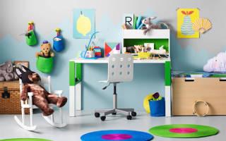 Ассортимент детских кресел Икеа для обустройства рабочей и игровой зон