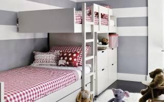 Какую кровать лучше выбрать для двоих детей, популярные модели