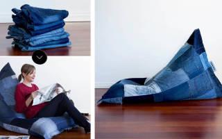 Инструкции по изготовлению своими руками бескаркасной мебели
