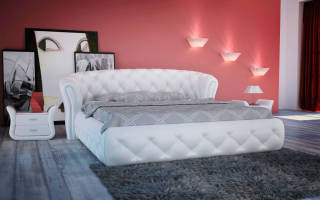 Возможные варианты мягких кроватей, дизайн и конструктивные особенности