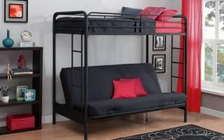 Какие бывают двухъярусные кровати с диваном, чем обусловлена их популярность