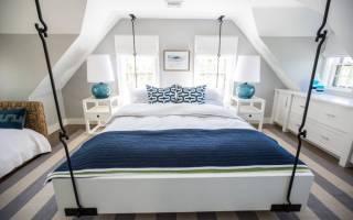 Интересные подвесные кровати, современные идеи и главные нюансы