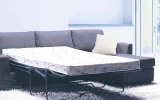 Трехсекционные диваны «французская раскладушка», плюсы и минусы модели