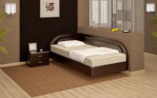 Варианты угловых кроватей, их место в современном интерьере