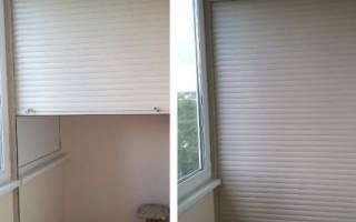 Варианты шкафов для балкона с рольставнями, и критерии выбора
