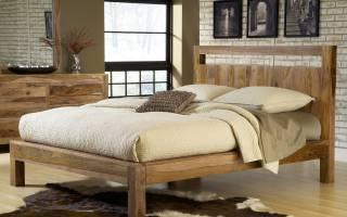 В каких вариантах представлены кровати из бруса, критерии их выбора