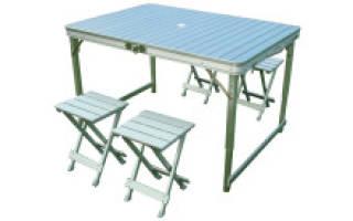 Варианты мебели для кемпинга и рекомендации по ее выбору
