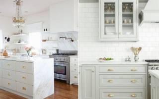 Какие бывают ручки для мебели на кухне, обзор моделей