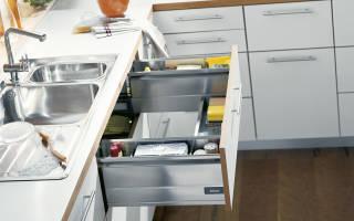Варианты шкафов под мойку в кухню, советы по выбору