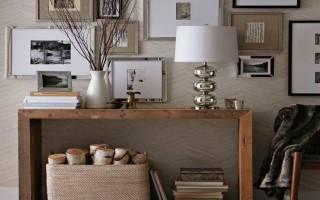 Какие варианты мебели в узкую прихожую