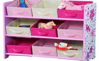 Какими бывают пластиковые комоды под игрушки, плюсы и минусы