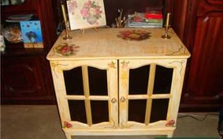 Как отреставрировать мебель своими руками, пошаговые рекомендации