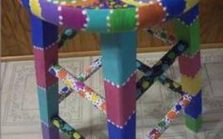 Способы росписи мебели, советы мастеров и важные нюансы