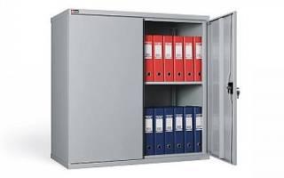 Какие бывают шкафы металлические, нюансы выбора