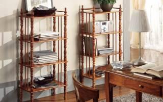 Виды этажерок, советы по выбору мебели