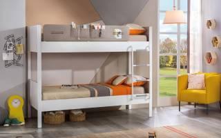 Виды двухъярусных кроватей для детей с бортиками, критерии выбора