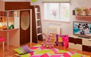 Функциональная кровать-чердак для детей, разновидности конструкций