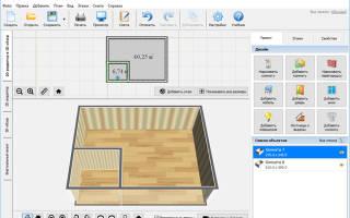 3D конструктор гардеробной