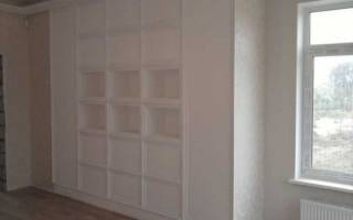 Нюансы изготовления шкафа из гипсокартона, полезные советы