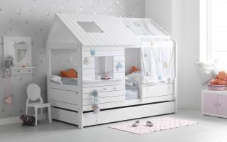 Обзор лучших кроватей домиков, особенности конструкции и нюансы выбора