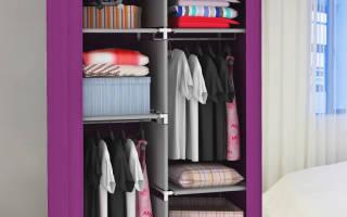 Обзор тканевых шкафов, какие бывают и как выбрать