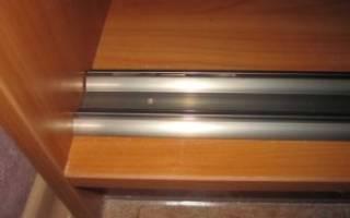 Варианты фурнитуры в шкафы купе, основные особенности