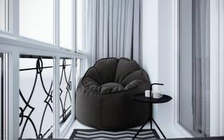 Правила выбора кресла на балкон, оптимальные модели