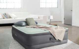 Разновидности надувных кроватей, важные нюансы выбора