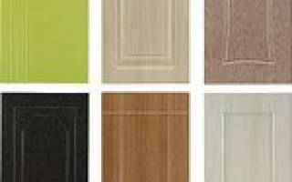 Какие бывают пленки пвх для оформления мебельного фасада