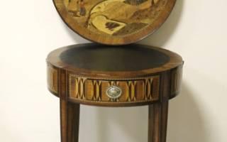 Особенности и преимущества ломберного стола, история его возникновения