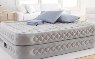 Обзор модельного ряда надувных кроватей Intex и их особенности