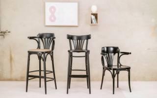 Как определить высоту барного стула, разновидности моделей