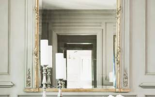 Способы крепления зеркала в зависимости от типа поверхности стены