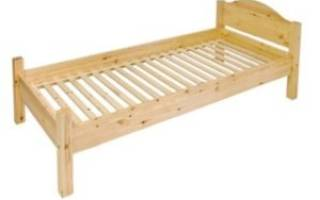 Разновидности деревянных односпальных кроватей, варианты размеров