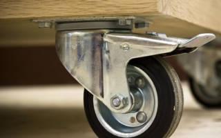 Какие бывают мебельные колесики, советы по выбору