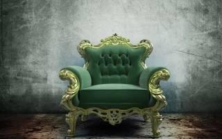 Особенности сочетания кресла-трона с современными интерьерами