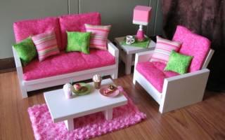 Советы по изготовлению мебели в кукольный домик своими руками