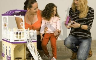 Критерии выбора мебели в кукольный домик, лучшие модели
