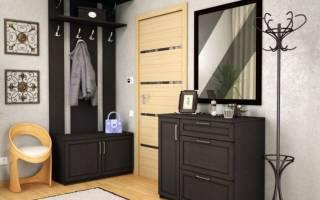 Варианты мебели для маленькой по размеру прихожей