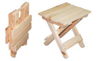 Как сделать своими руками складной стул – этапы работы