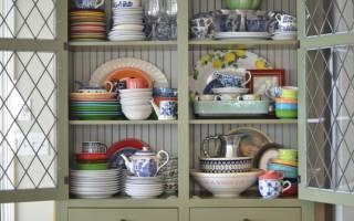 Обзор шкафов витрин под посуду, правила выбора