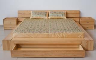 Существующие модели кроватей из массива сосны, качества материала