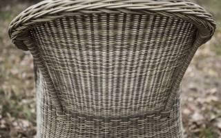 Варианты мебели из ротанга, отличительные черты