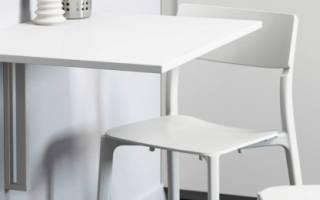 Советы по сборке откидного стола с креплением к стене своими руками