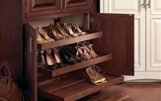 Обзор шкафов для обуви, основные правила выбора