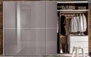Какие бывают шкафы купе эконом, обзор моделей