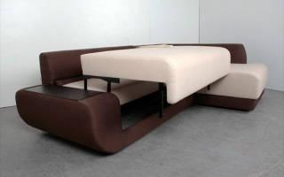 Преимущества диванов с механизмом Пума, алгоритм раскладывания