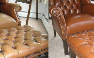 Как отремонтировать кожаную мебель дома, советы специалистов