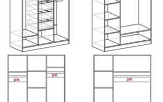 Какие бывают шкафы трехстворчатые распашные, обзор моделей